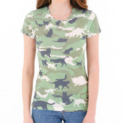 Catmouflage Cat Camo Women's T-Shirt