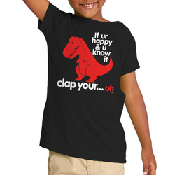 Sad T Rex Toddler T-Shirt