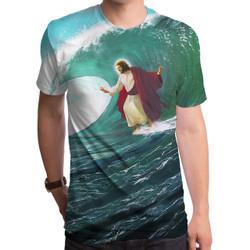 Surfs Up Jesus Men's T-Shirt