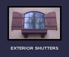 Exterior window shutters | Outdoor Window Shutters