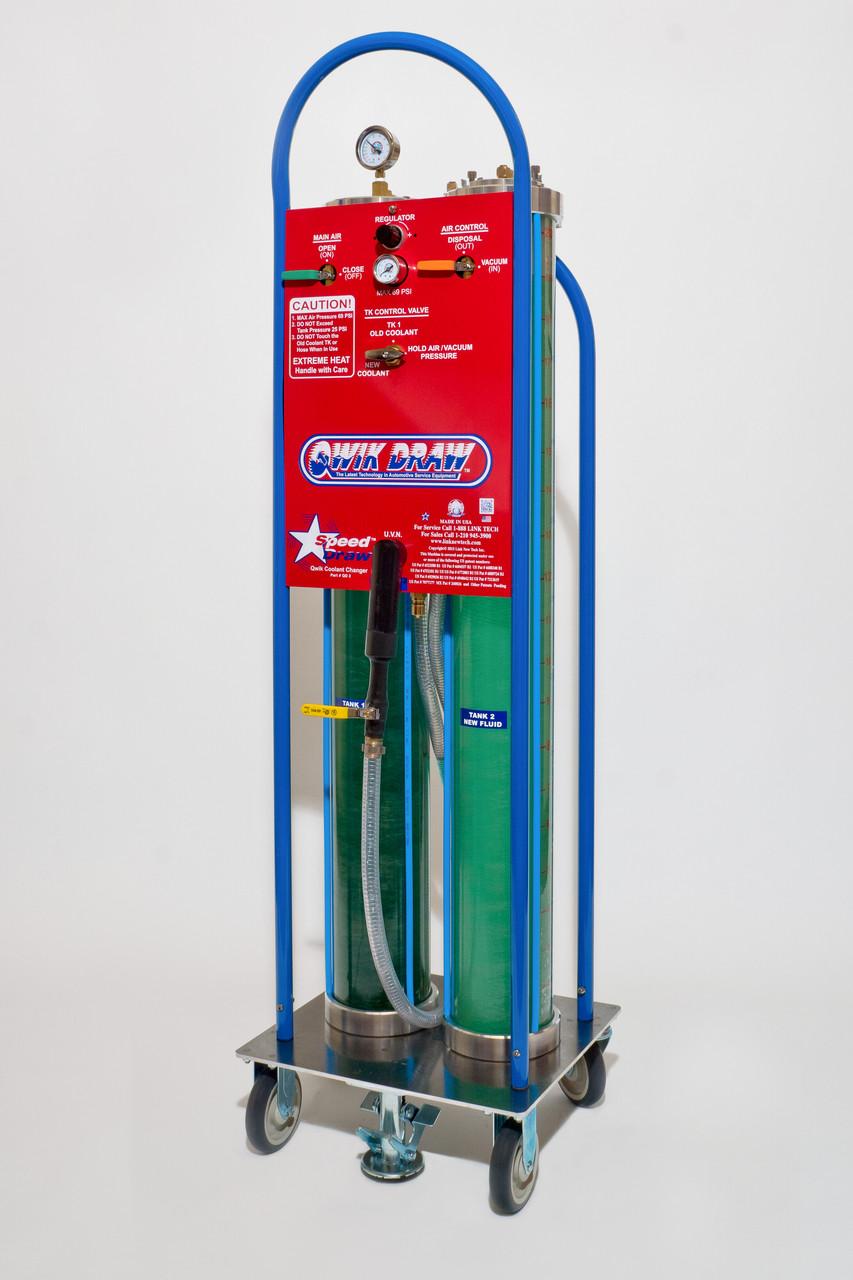 Coolant Flush Machine by QwikDraw Speed Draw