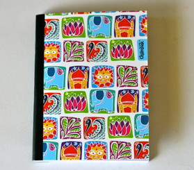 Squares Pattern notebook