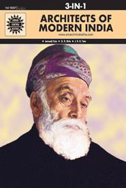 Amar Chitra Katha: Architects of Modern India (3 in 1 comic book)