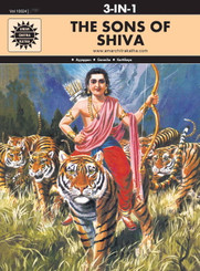 Amar Chitra Katha: Sons of Shiva (3 in 1 comic book)