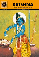 Amar Chitra Katha's Krishna single comic book