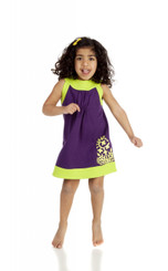 Purple lime sundress