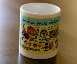 You know you're Indian Coffee Mug (Chumbak)