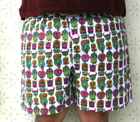 "Men's Boxers ""Nazar"" - Demons n' Monsters"