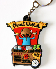 Chaat wallah (Mr. Mix-it-Up) Keychain (Chumbak-India)