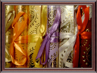 Scrolls (mix pack of 6): paisley design