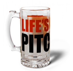 Cricket Beer Mug - Life's a pitch