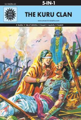 Amar Chitra Katha:  Kuru Clan (hardbound 5 in 1 comic book)