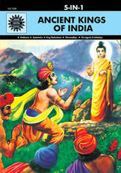 Ancient Kings Of India (Amar Chitra Katha) (5 in 1 comics)