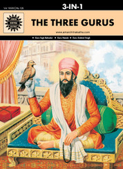 The Three Gurus (Amar Chitra Katha) (3 in 1 comics)
