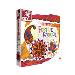 Sand Art Festive Rangoli Craft Kit