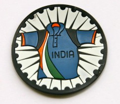 Chumbak: Indian cricket team t-shirt refrigerator magnet