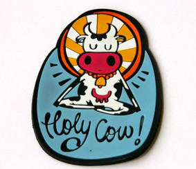 Chumbak: Holy Cow! fridge magnet