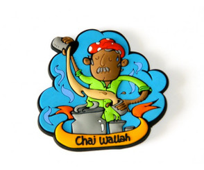 Chumbak: Chai Wallah fridge magnet