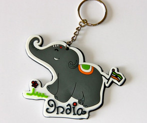 Chumbak: Elephant Loves India flexible keychain