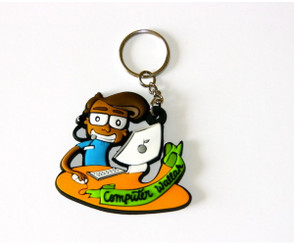 Chumbak: Computer Wallah (IT guy) flexible keychain