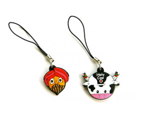 Sardar & Holy Cow charms