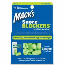 Snore Blockers Foam Earplugs