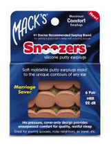 Snoozers Silicone Earplugs