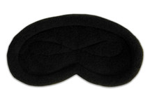 Infinity Fleece Sleep Mask Black