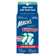Mack's Original Soft Foam Earplugs