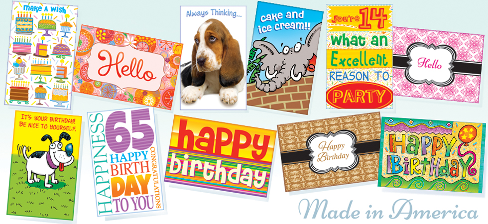 stockwell wholesale greeting card company usa, Birthday card