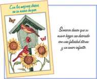 01042 new home spanish greeting card six cards six envelopes 01042 new home spanish greeting card six cards six envelopes stockwell greetings m4hsunfo