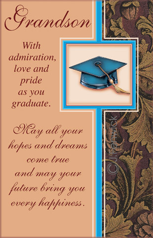 Graduation Grandson Six Cards Six Envelopes 36070