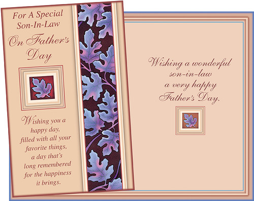 38077 six fathers day son in law greeting cards with six envelopes image 1 m4hsunfo