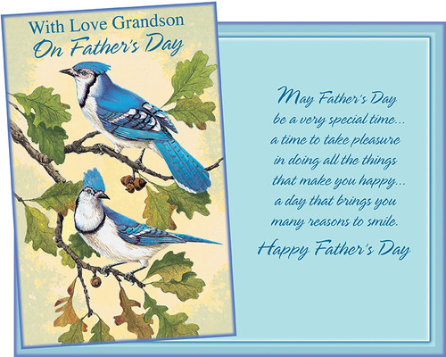 38082 six fathers day grandson greeting cards with six envelopes fathers day grandson greeting cards with six envelopes image 1 m4hsunfo