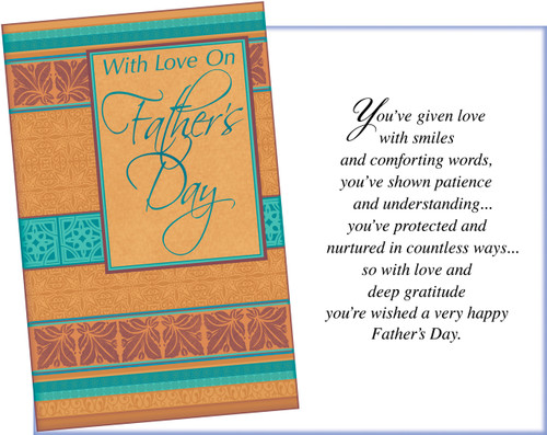 38028 six fathers day general greeting cards with six envelopes fathers day greeting cards m4hsunfo