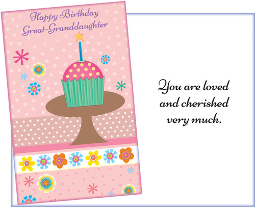 95424 six birthday great granddaughter greeting cards with envelopes wholesale great granddaughter greeting cards bookmarktalkfo Gallery