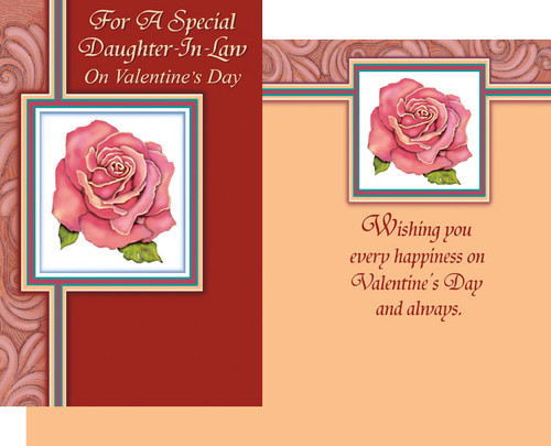32127 six valentines day daughter in law cards with envelopes valentines day daughter in law greeting cards m4hsunfo