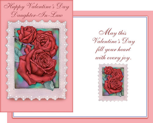 32128 six valentines day daughter in law cards with envelopes valentines day wife greeting cards m4hsunfo