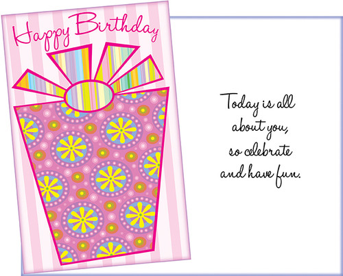 93543 Six Birthday Greeting Cards With Six Envelopes Stockwell
