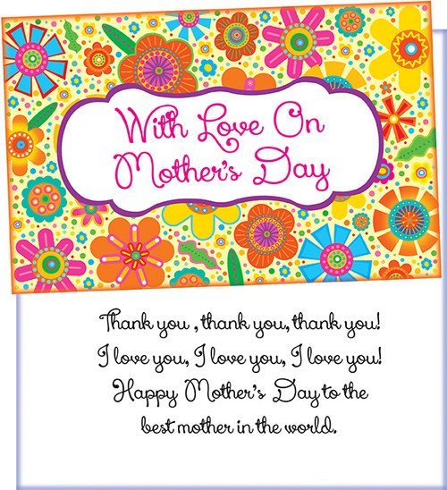 34024 six mothers day greeting cards with six envelopes stockwell mothers day wholesale greeting card m4hsunfo
