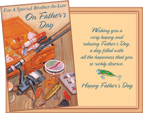 38080 six fathers day brother in law cards with six envelopes brother in law fathers day greeting cards m4hsunfo