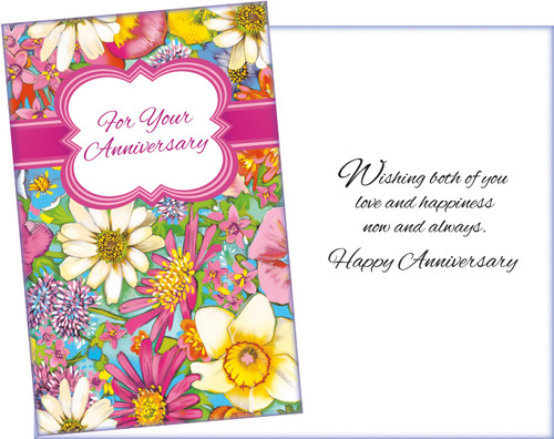 95995 six anniversary greeting cards with six envelopes stockwell six cards with six envelopes pre printed retail is 275 made in america on m4hsunfo
