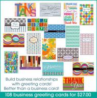 buisness greeting cards