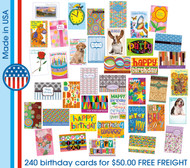 discount birthday greeting cards