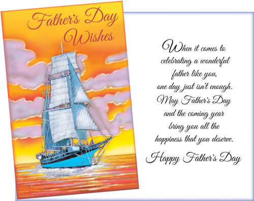 38030 six fathers day general greeting cards with six envelopes fathers day greeting cards m4hsunfo