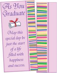 35044 six graduation moneyholders with six envelopes