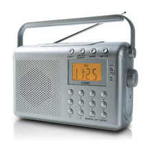 Coby  Digital AM/FM Radio with Dual Alarm