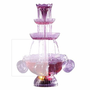 Nostalgia Electrics Lighted Party Fountain Beverage Set