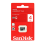 SanDisk 4GB Micro SD SDHC New MicroSD Memory Card 4 GB
