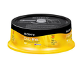 Sony 25-Pack DVD-RW 4.7GB 120 MIN (Audio & Video)